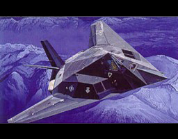 Lockheed F-117A Stealth Fighter 1:48