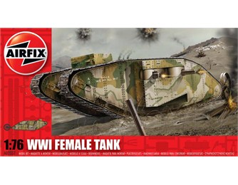 WWI Female Tank 1:76