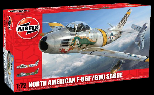 North American F-86F Sabre 1:72