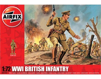 WWI British Infantry 1:72