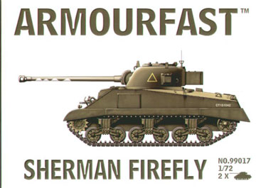 Sherman Firefly 1:72 - Click Image to Close