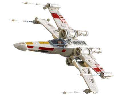 X-Wing fighter easy kit 1:112