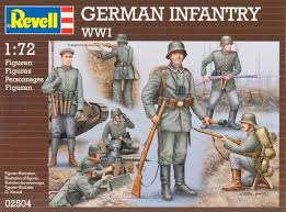 German Infantry WWI 1:72