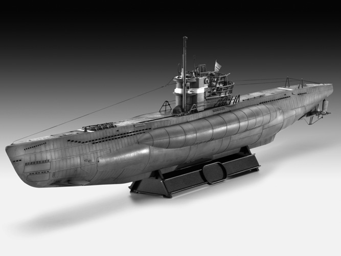 German U-Boat Type VIIC/41